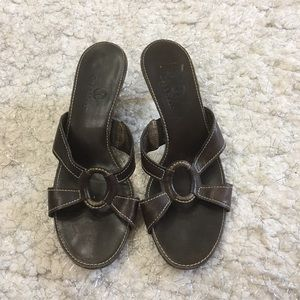Authentic Cole Haan Leather Sandals